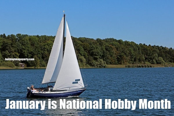 January is National Hobby Month
