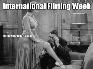 International Flirting Week