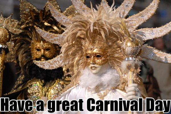 Have a great Carnival Day