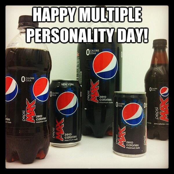 Happy Multiple Personality Day