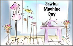 Sewing Machine Day