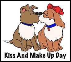 Kiss and Make Up Day