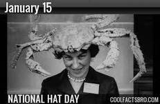 January 15 National Hat Day