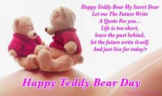 Happy Teddy Bear Day