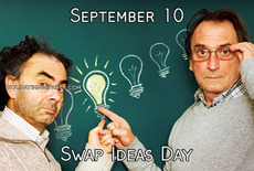 September 10 Swap Ideas Day