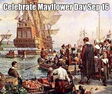 Celebrate Mayflower Day Sep 16
