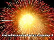 Mexican Independence Day Fiesta September 16