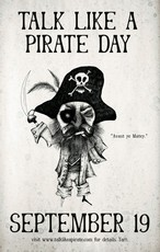 Talk Like A Pirate Day September 19