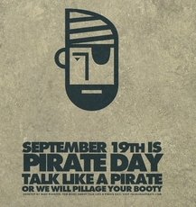 September 19th is Pirate Day