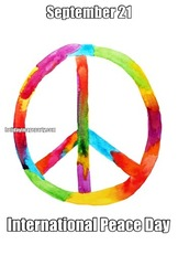 September 21 International Peace Day