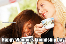 Happy Women's Friendship Day
