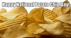 Happy National Potato Chip Day!