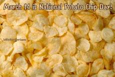March 14 is National Potato Chip Day!