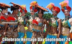 Celebrate Heritage Day September 24