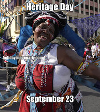 Heritage Day September 23