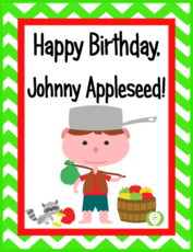 Happy Birthday Johnny Appleseed