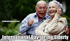 International Day for the Elderly