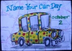 Name Your Car Day October 2