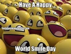 Have A Happy World Smile Day