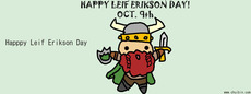 Happy Leif Erikson Day Oct 9th