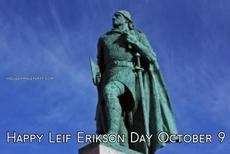 Happy Leif Erikson Day October 9