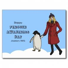 Happy Penguin Awareness Day January 20th