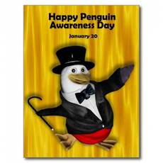 Happy Penguin Awareness Day January 20
