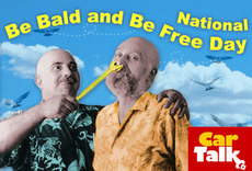 National Be Bald and Free Day