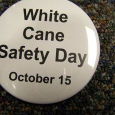 White Cane Safety Day October 15