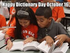 Happy Dictionary Day October 16