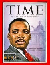 Martin Luther King Jr on Time Magazine