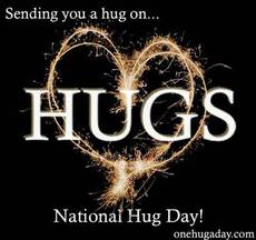 Sending you a hug on National Hug Day!