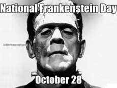 National Frankenstein Day October 28