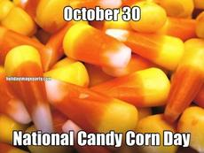 October 30 National Candy Corn Day