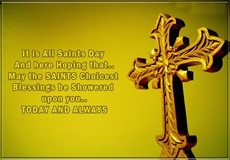 It is All Saints Day