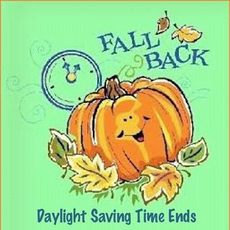 Fall back daylight saving time ends