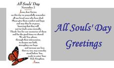 All Souls Day November 2