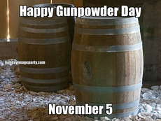 Happy Gunpowder Day November 5