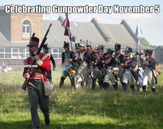 Celebrating Gunpowder Day November 5