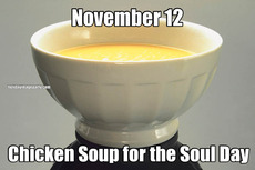 November 12 Chicken Soup for the Soul Day