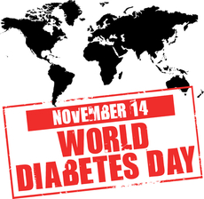 November 14 World Diabetes Day