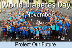 World Diabetes Day 14 November Protect our future