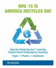 Nov 15 is America Recycles Day