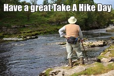 Have a great Take A Hike Day