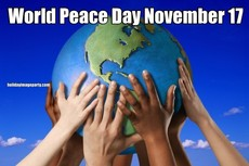 World Peace Day November 17