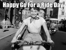 Happy Go For a Ride Day
