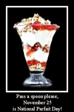 November 25 is National Parfait Day