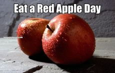 Eat a Red Apple Day