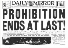 Prohibition ends at last