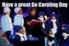 Have a great Go Caroling Day